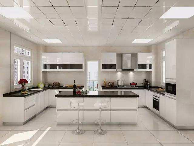 开放式厨房装修效果分享